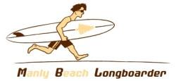 Manly Beach Longboarder